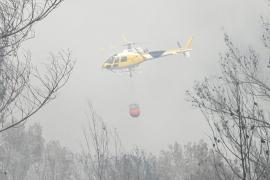Un nuevo incendio calcina 23 hectáreas y obliga a evacuar 100 vecinos de Sant Miquel