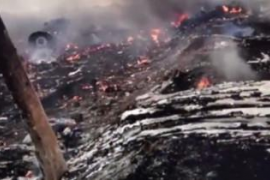 Un nuevo vídeo demostraría que los prorrusos derribaron el avión de Malaysia Airlines