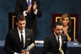 Casillas y Xavi reciben la Gran Cruz del Mérito Deportivo