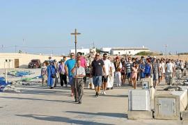 Formentera se rinde a la patrona del mar