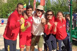 España accede a las semifinales y se mete así la lucha por las medallas