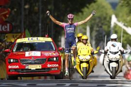 La escapada del español Rubén Plaza le otorga su primera etapa del Tour