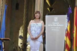 Francina Armengol visita mañana Eivissa, tras la constitución del nuevo gobierno insular