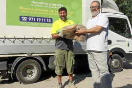 La Fundación Abel Matutes y Palladium  entregan material a entidades benéficas