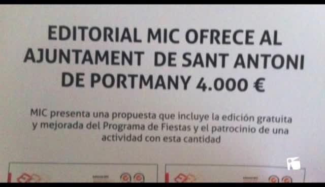"""VÍDEO: Vila alerta que se está comercializando un programa de Fiestas de la Tierra que """"no es oficial"""""""