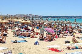 Mallorca registrará un 'tapón turístico' hasta el 23 de agosto