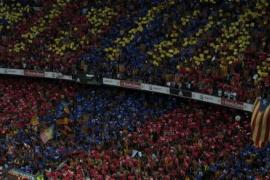 Multa de 30.000 euros al Barcelona por la presencia de esteladas en la final de la Liga de Campeones