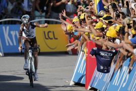 Romain Barde se impone en la segunda etapa alpina, Froome sigue lider