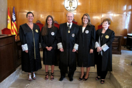 Dos nuevas juezas juran su cargo ante la Sala de Gobierno del Tribunal Superior