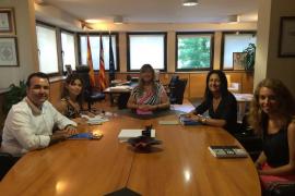 Reunión entre la FEHM y la conselleria de Salut