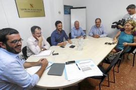 Santa Eulària ofrece al Govern terrenos agrícolas para depositar los lodos de la depuradora