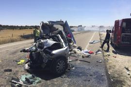 Cuatro menores muertos en un accidente de tráfico en Zamora