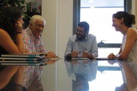 Vidal promete trabajar en los espacios marinos protegidos de Baleares