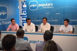 Martínez-Maíllo dice que «Pedro Sánchez  es Zapatero bis y representa la crisis y el paro»