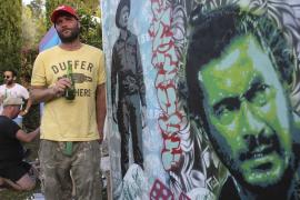 El arte urbano invade la Ibiza rural