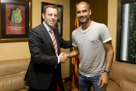 Guardiola acepta la renovación por un año con el FC Barcelona