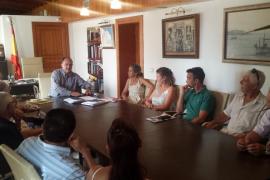 Santa Eulària inicia las reuniones de cara a la peatonalización de Isidor Macabich