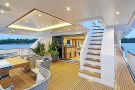 La náutica de lujo dispara el consumo en Balears