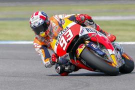 Márquez saldrá primero en Indianápolis, donde Lorenzo lo hará tercero