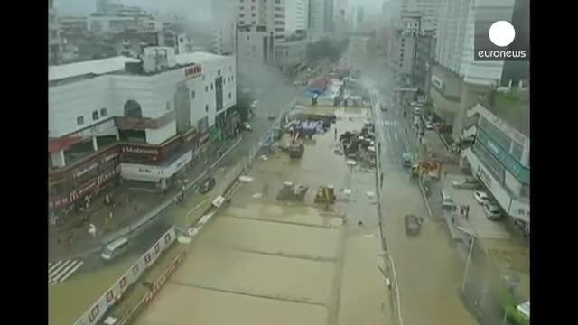 El tifón Souledor causa 17 muertos y 671.000 evacuados en China