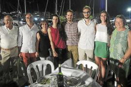 Cena de verano en el Club Náutico de s'Arenal