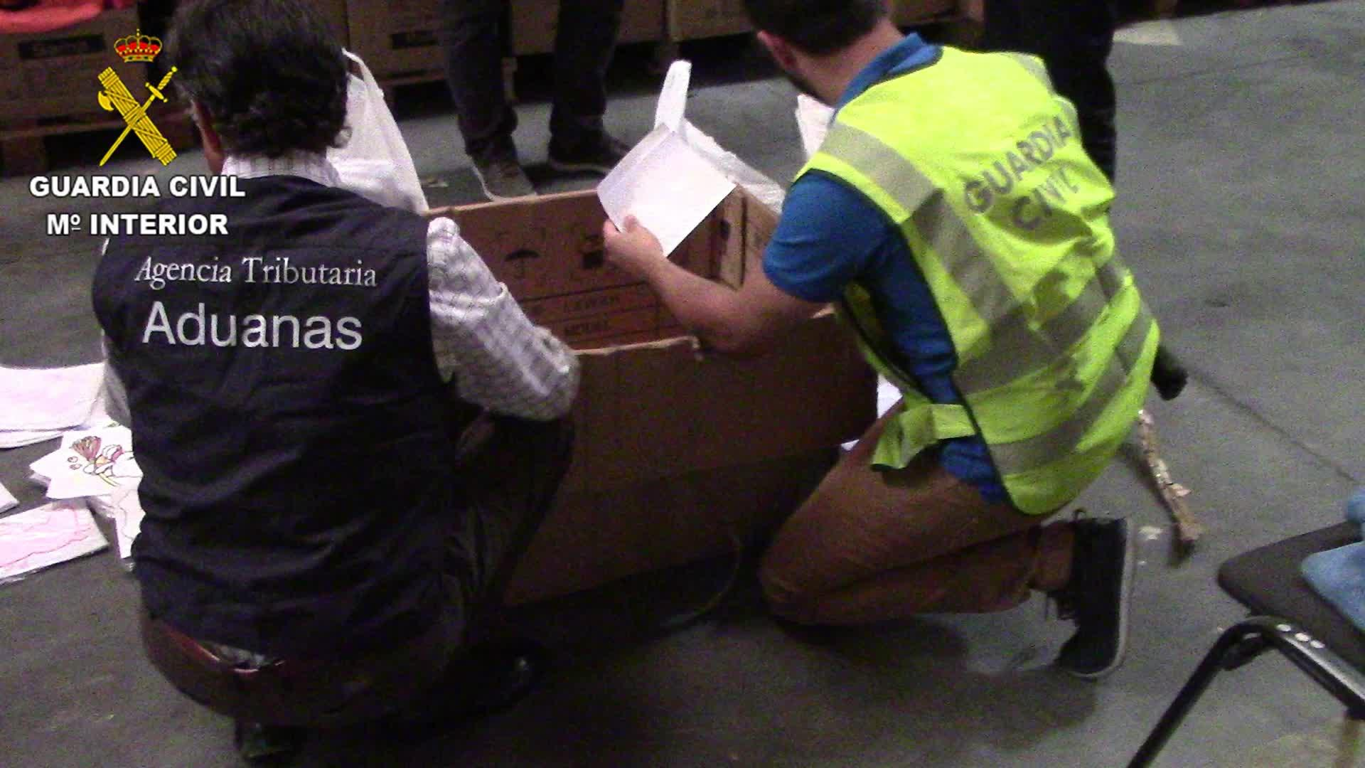 Desarticuladas varias empresas dedicadas al contrabando de falsificaciones en Mallorca