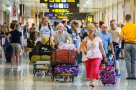 El Aeropuerto d'Eivissa registra en julio un nuevo récord, con un 4,6% más de pasajeros