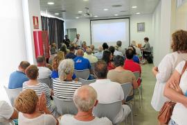 Indignación entre los vecinos de Sant Jordi por seguir pagando agua que no es apta