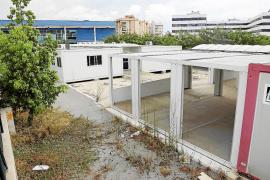 Educació quiere retirar los barracones de es Pratet antes de empezar el curso