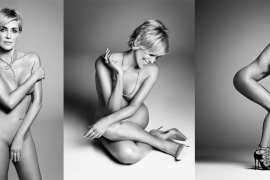 Sharon Stone posa desnuda a sus 57 años