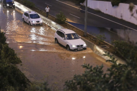 El Consell de Eivissa pide precaución ante posibles desprendimientos en carreteras