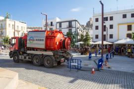 La canalización sin estrenar del 'pozo de tormentas' del puerto evitaría inundaciones