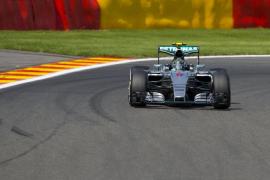 Nico Rosberg domina las primeras sesiones del GP de Bélgica