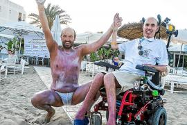 El nadador Jaime Caballero logra hacer historia en Eivissa