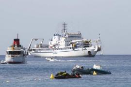 El Consell considera urgente regular los fondeos tras la rotura del cable submarino