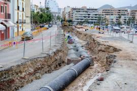 Vila solicita restaurar con «urgencia» tres desagües cerrados durante las obras del puerto
