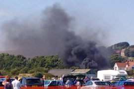 Siete muertos en un accidente durante una exhibición aérea en Inglaterra