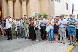 Eivissa despide entre aplausos a Llanos Lozano