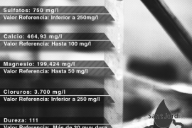 Los análisis demuestran que el agua de Sant Jordi no es apta por su alto índice de salinidad
