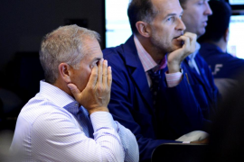 Nuevo descenso de las bolsas asiáticas tras el peor dato de Wall Street en cuatro años