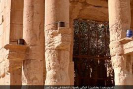 El Estado Islámico publica imágenes de la destrucción del templo de Palmira