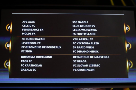 Villarreal y Athletic evitan a los grandes en el sorteo de la Europa League