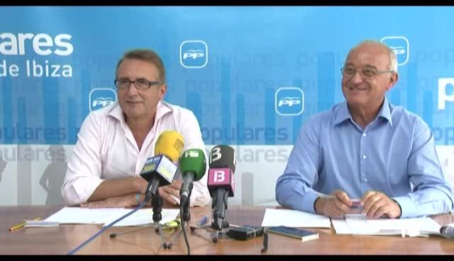 VÍDEO: El PP anuncia inversiones por valor de 60 millones en saneamiento y abastecimiento de agua en Eivissa