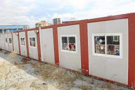 Empiezan a desmontar tres  aulas modulares