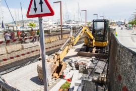 Vila inicia obras de urgencia para destapar los aliviaderos
