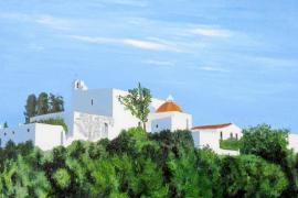 Los paisajes de Eivissa, protagonistas en una muestra en Santa Eulària