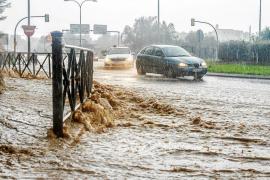 El túnel de Sant Jordi, inundado