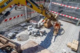 Las obras para destapar los tres aliviaderos de Vila no llegan a tiempo