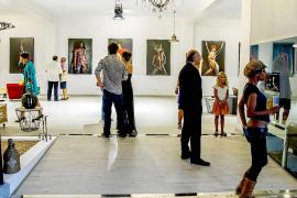 Galería fotográfica de arte vivo en Le Pigeon Voyageur