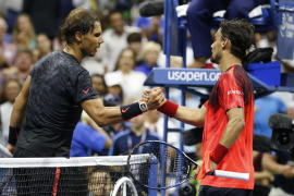 Nadal: «Fognini jugó muy bien, y lo hizo mejor que yo»